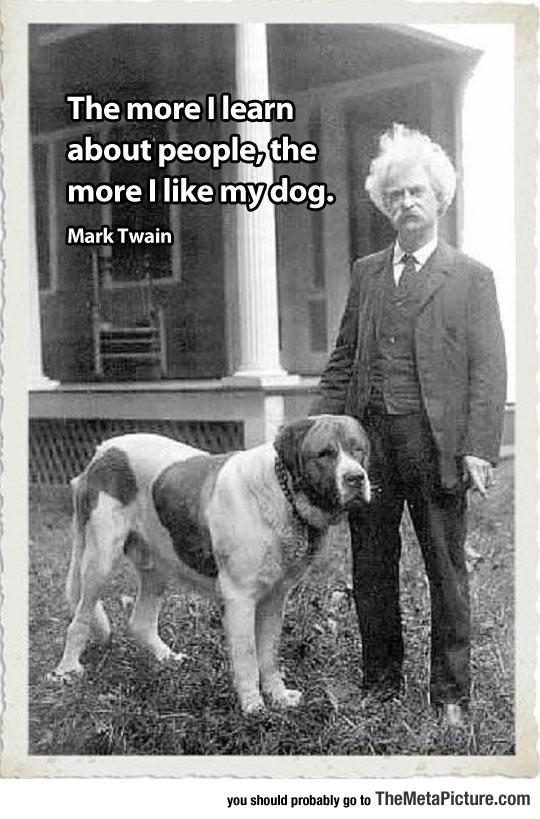 Mark Twain Makes A Good Point