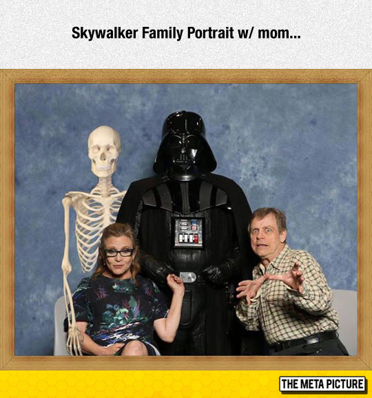Skywalker Family Portrait