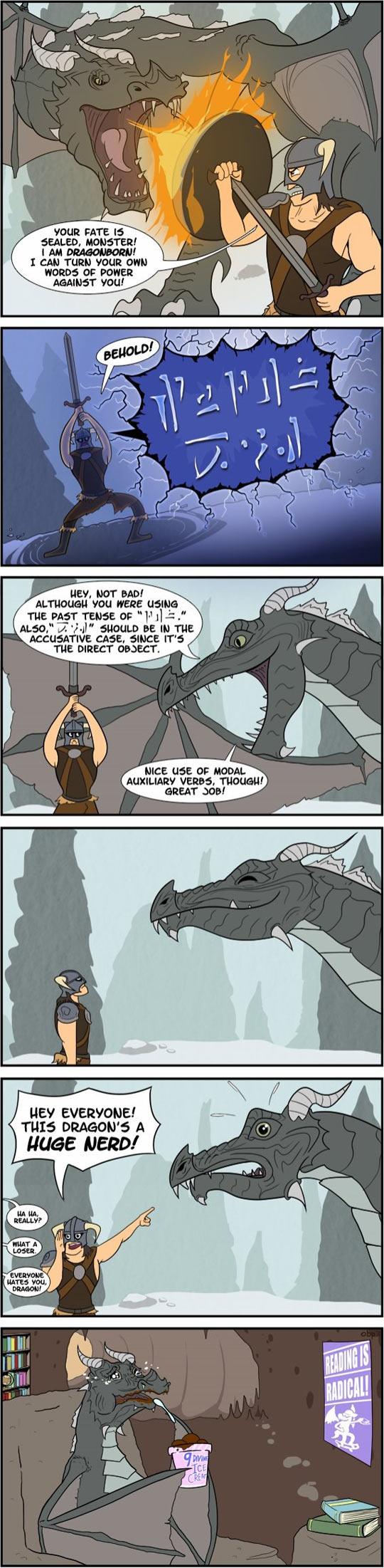 funny-comic-nerd-dragon-conquer-fire