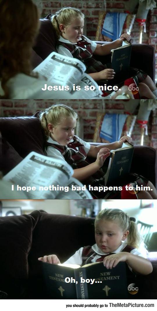 funny-little-girl-reading-Jesus-bible