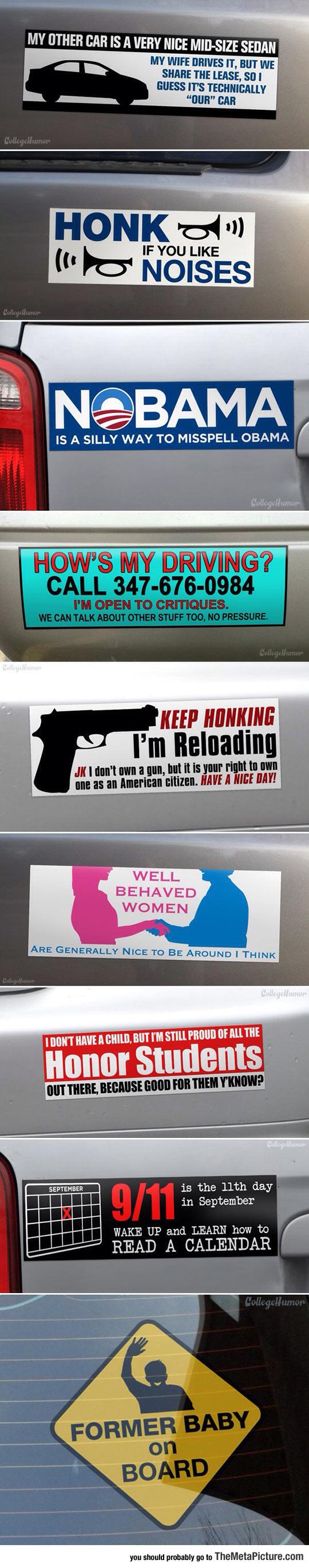funny-passive-bumper-stickers