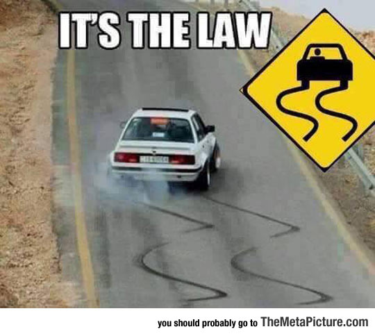 Always Respect The Law