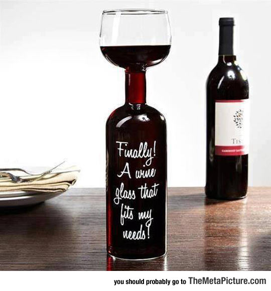 My Kind Of Wine Glass