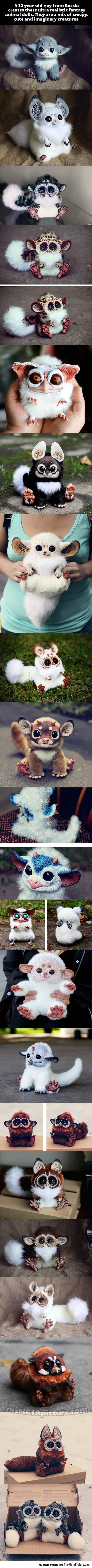Realistic Fantasy Animal Dolls