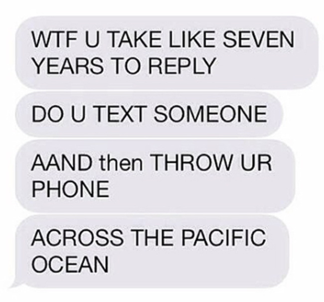 Text why back dont people Don't take