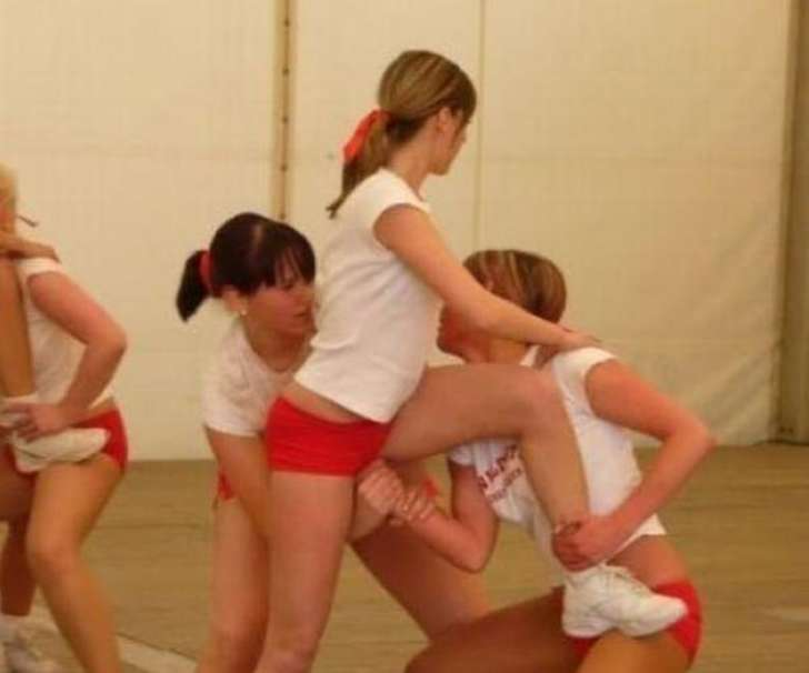 11. This cheer practice.