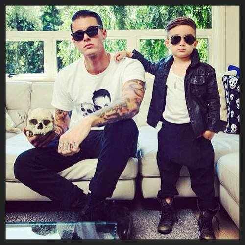 Tumblr dad and son