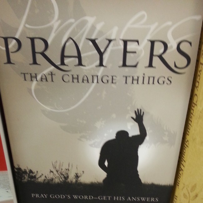 26 This book that might not realize what prayer looks like.