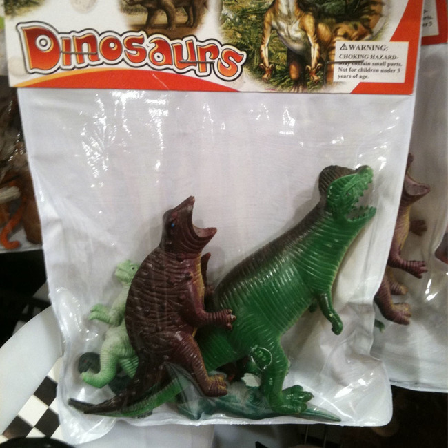 28 These dinosaurs having a good time.