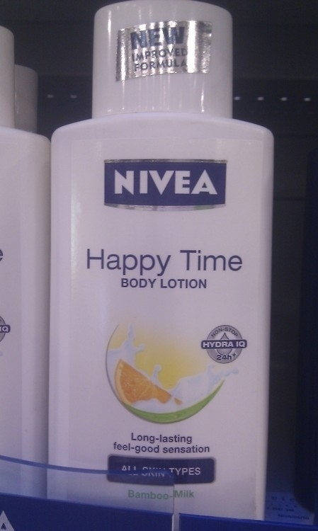 6 This bottle of body lotion.