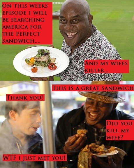 Ainsley is on the case