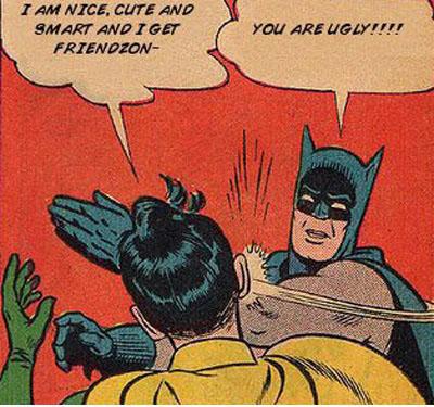 Batman knows what's up