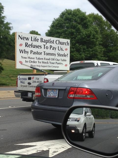 Churches Don't Screw Over Contractors!