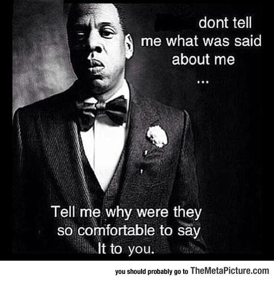 Jay Z Tells It Like It Is