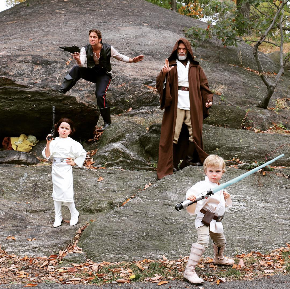 Neil Patrick Harris' Family's Star-Wars Halloween Costumes