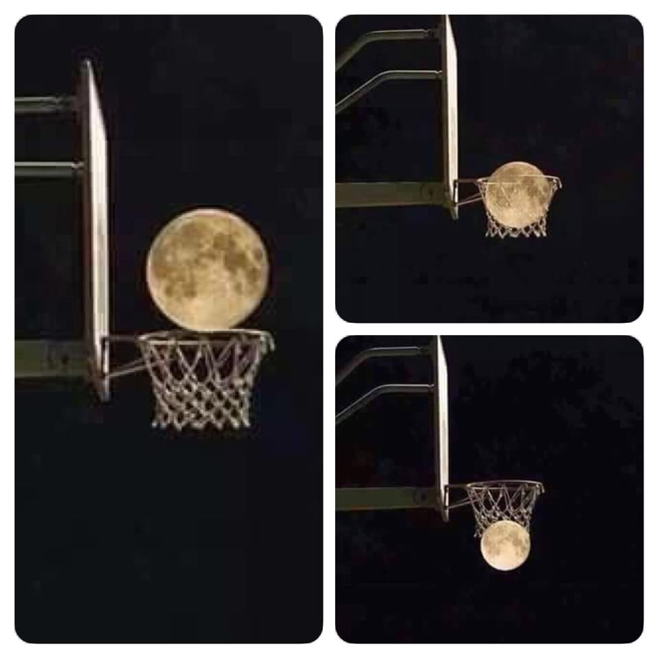 Slamdunk the moon