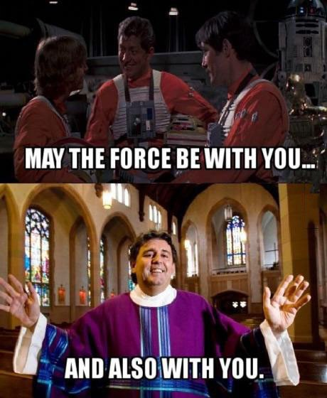 Star Wars fans who grew up Catholic know this struggle