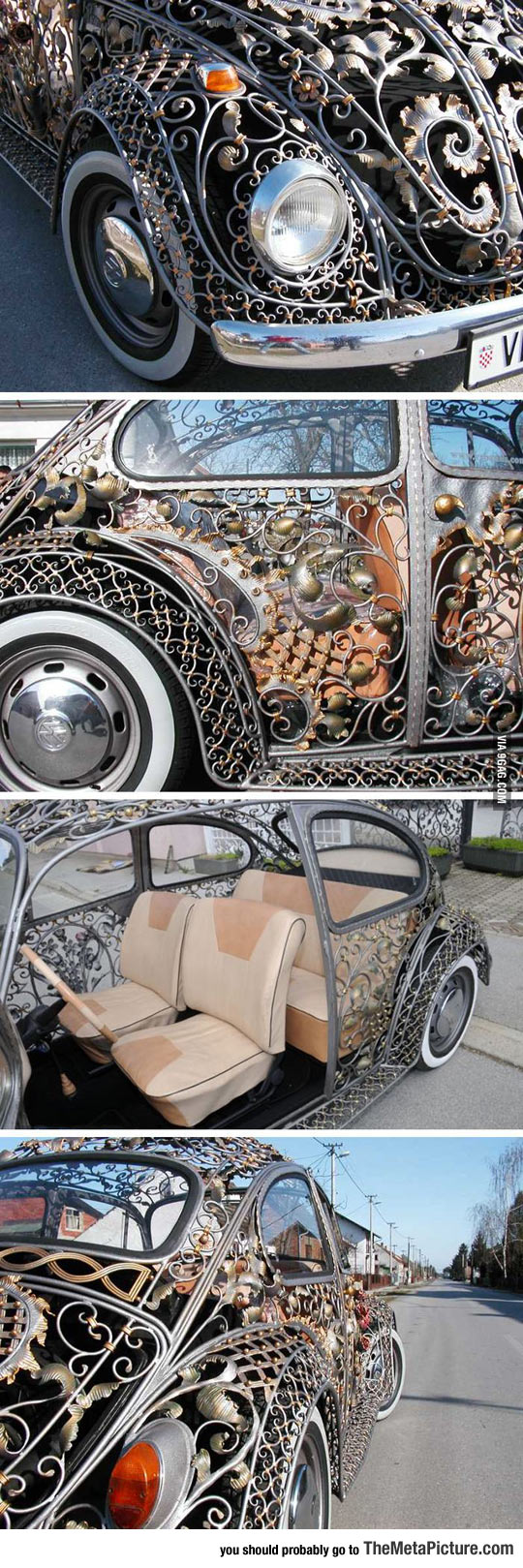 Awesome Bug Body From A Croatian Metalwork Shop