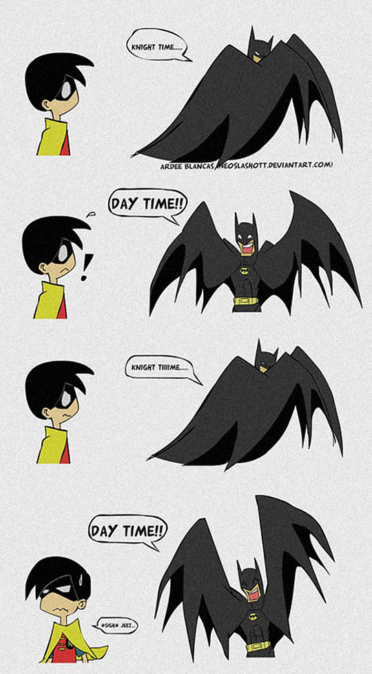 cool-Batman-Robin-cartoon-day-time