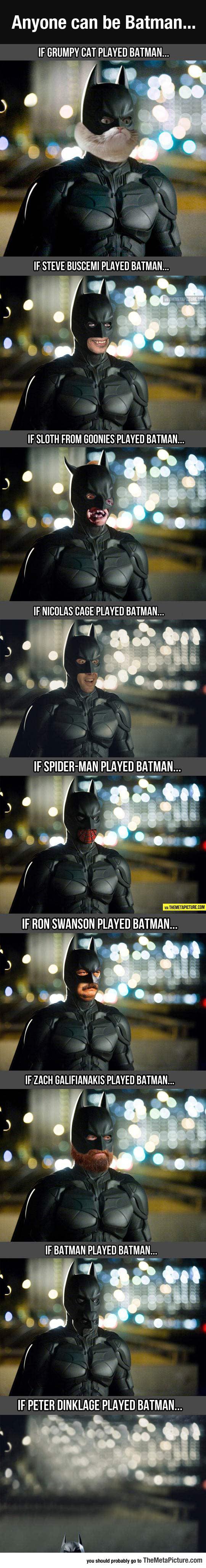 When Anyone Can Be Batman