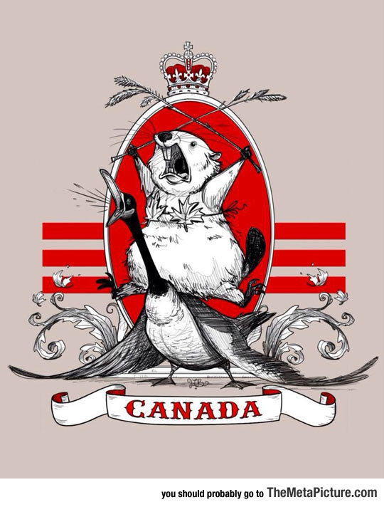 Canada In A Picture