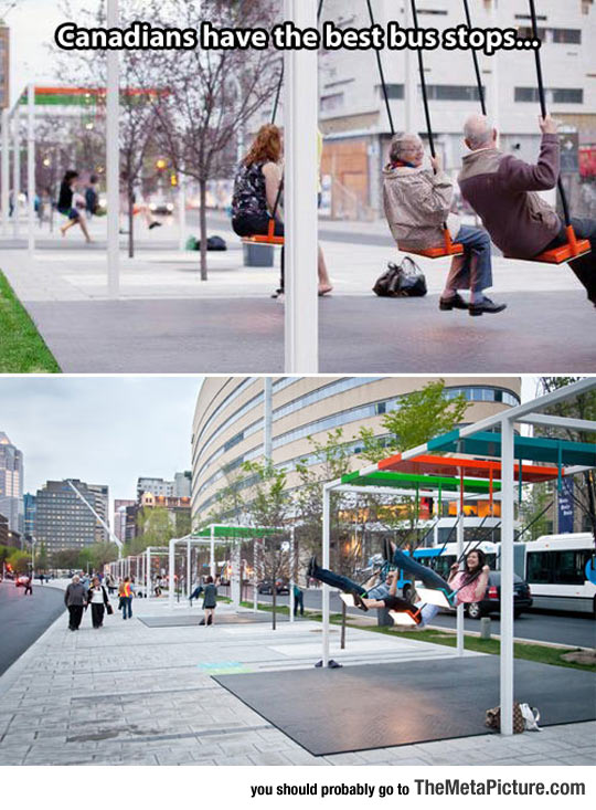 Bus Stops In Montreal