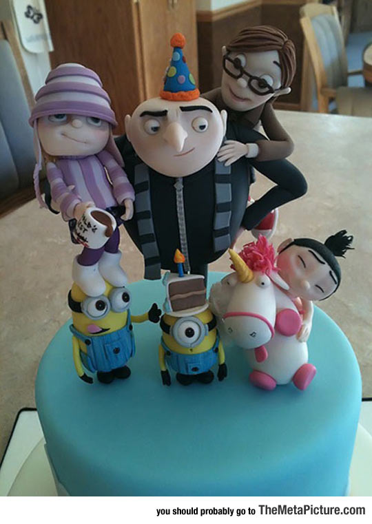 Such A Despicable Cake