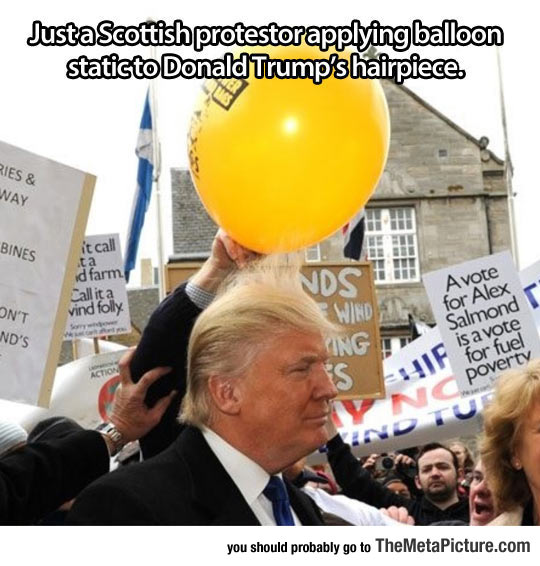 Never Change, Scottish People