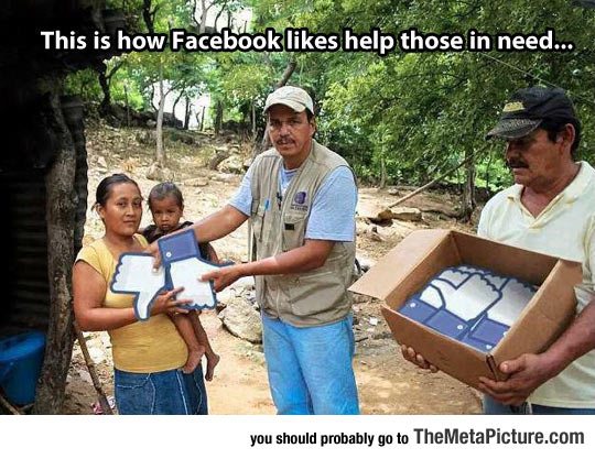 How Facebook Usually Helps Those In Need