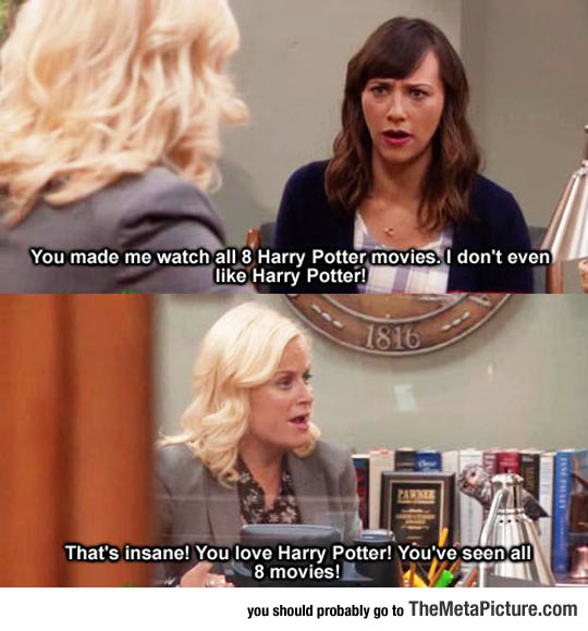 But You Love Harry Potter