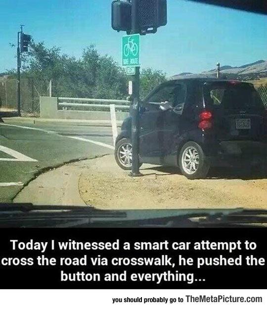 cool-Smart-car-crosswalk
