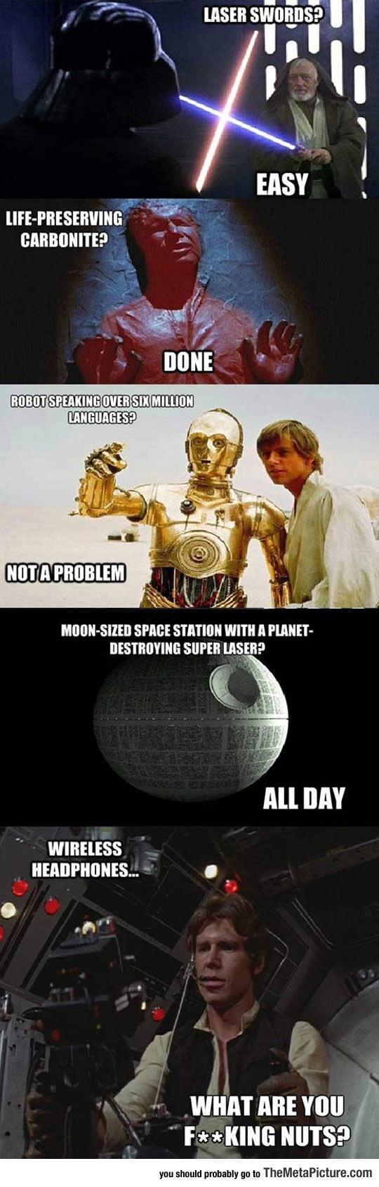The Flawless Logic Of Star Wars