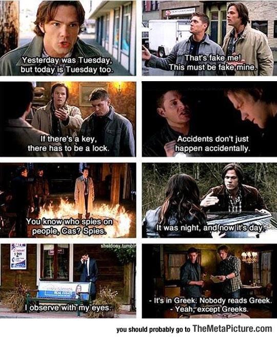 Just Supernatural Logic