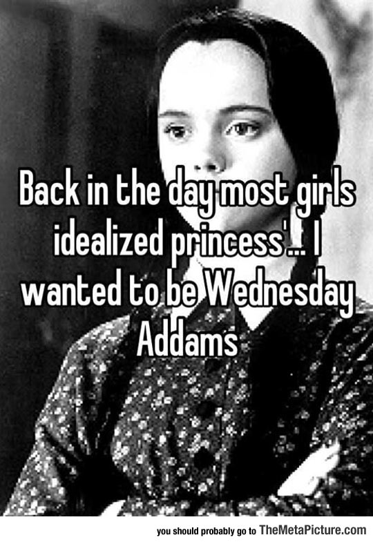 cool-Wednesday-Addams-princess-quote