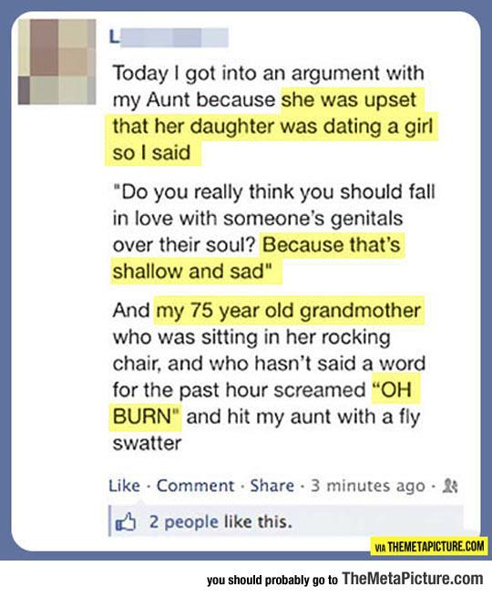 Nice, Grandma