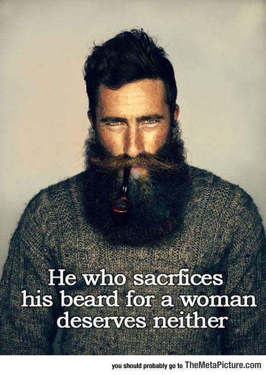Beard Sacrifice Truth