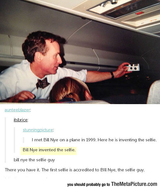 The Inventor Of The Selfie