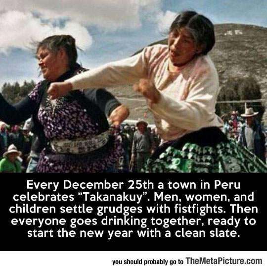 How They Do It In Peru