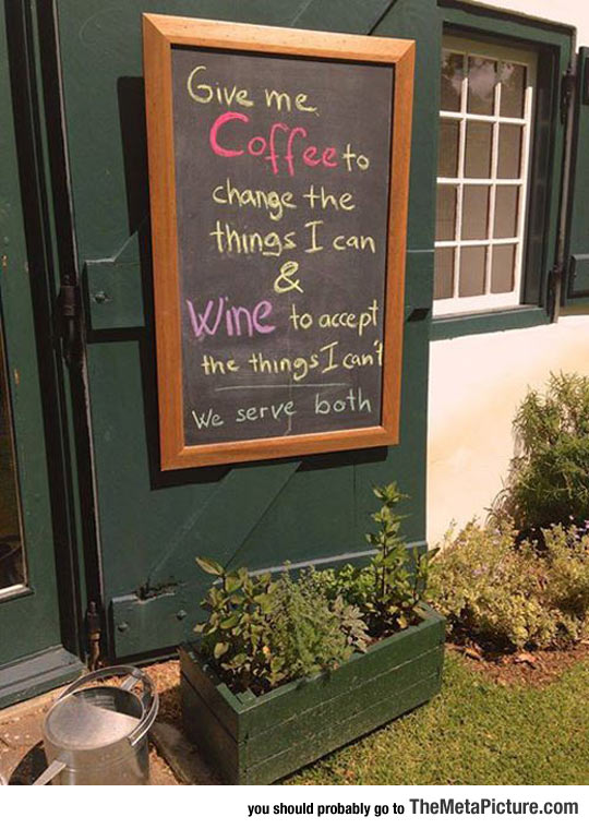 Perfect Coffee Shop Sign