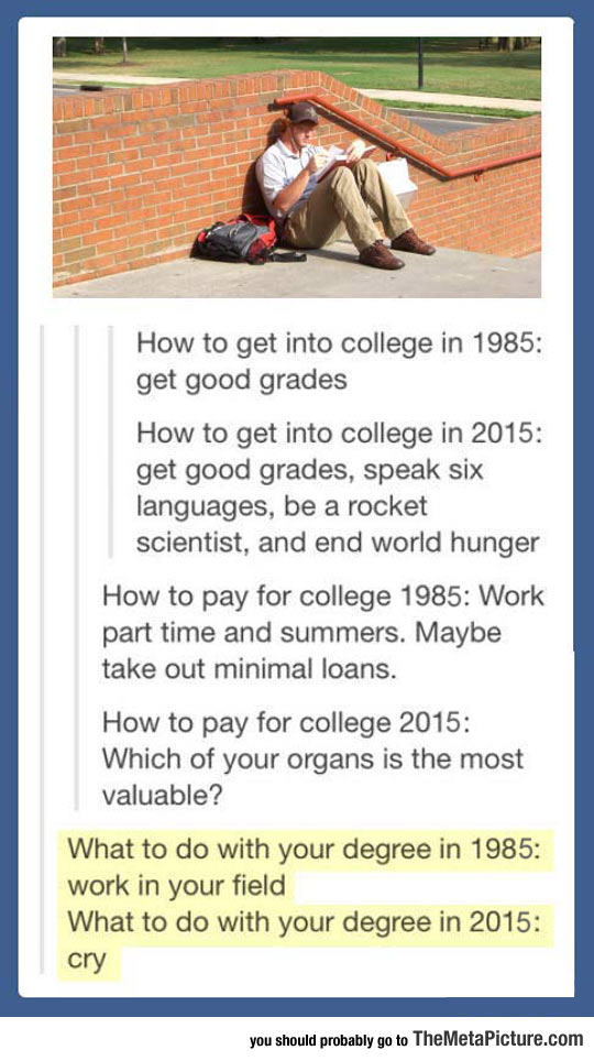 College Has Changed