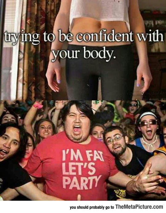 Being Confident With Your Body