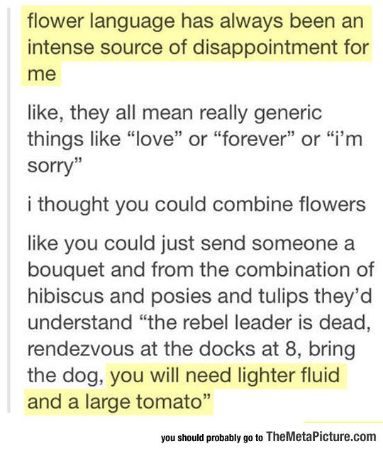 Redefining Flower Language