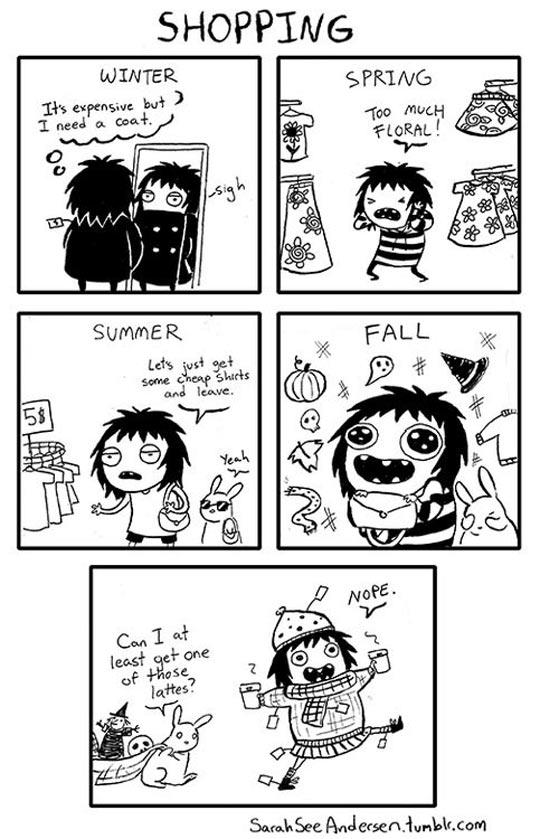 The Way I Shop Through The Seasons