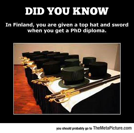 Finland Knows How To Do It Properly