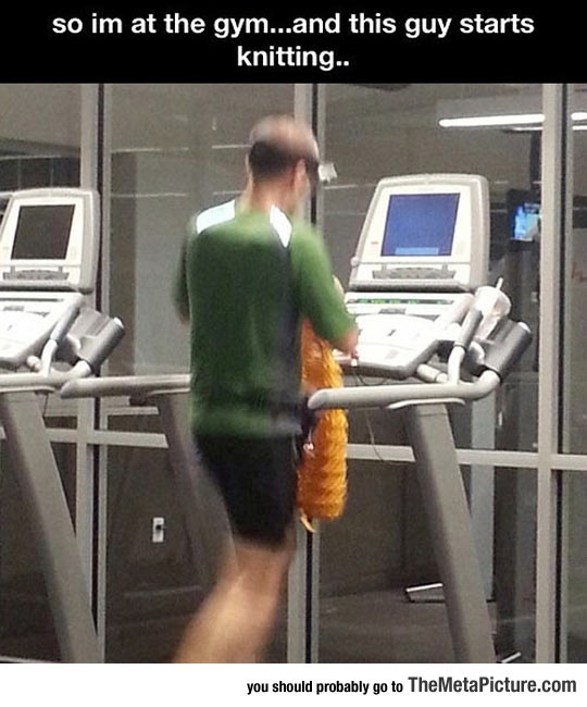Apparently This Is A New Form Of Exercise