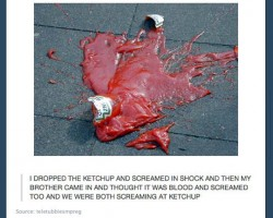 Just Dropped The Ketchup