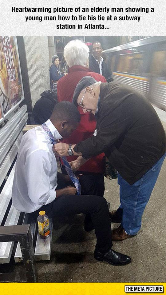 Heartwarming Moment
