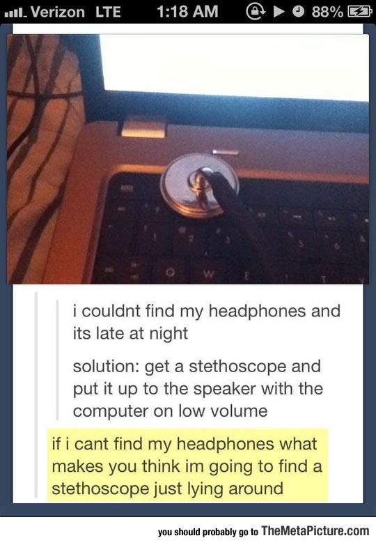 cool-stethoscope-headphones-computer-sound