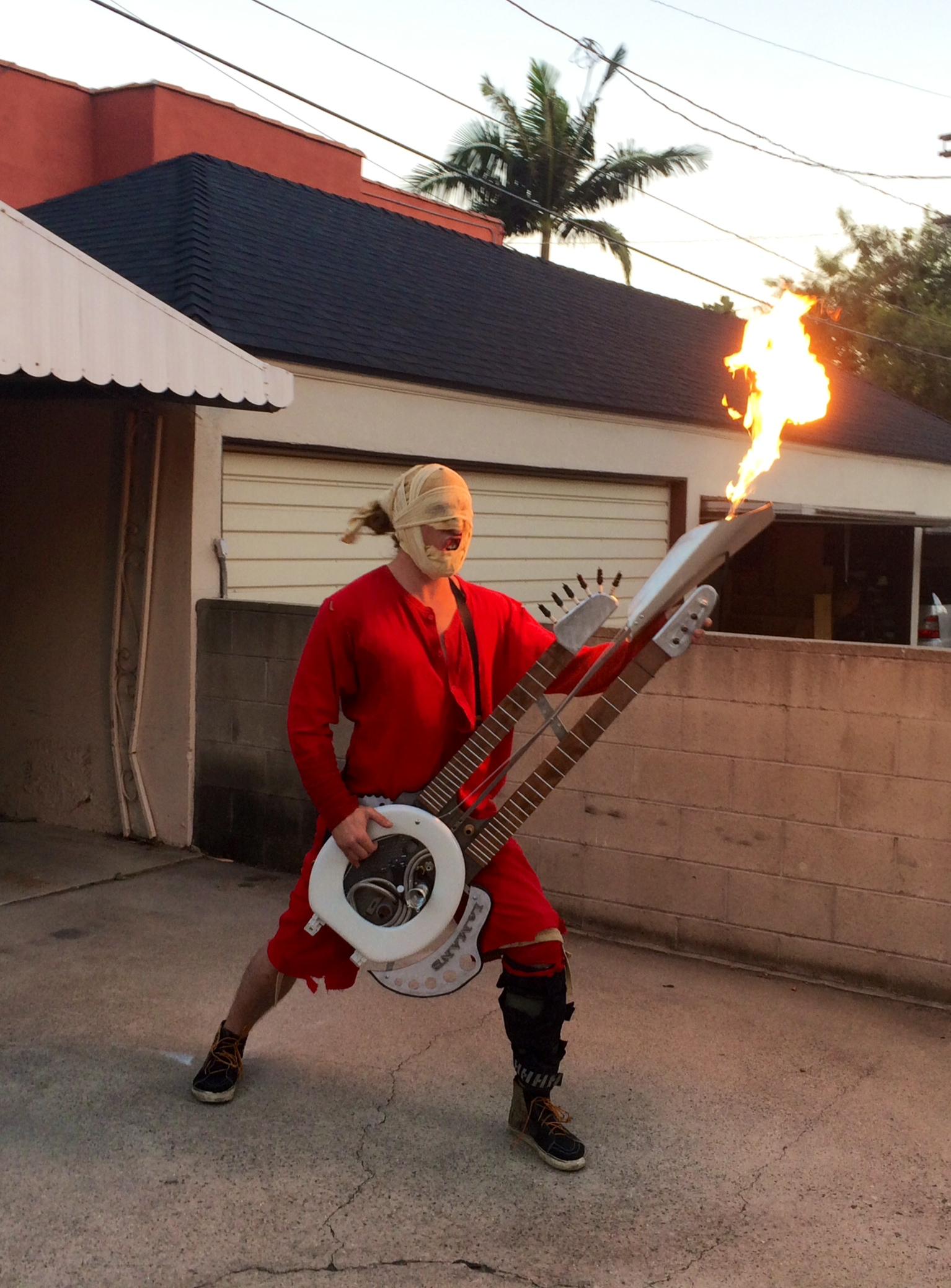 functional Doof Warrior costume