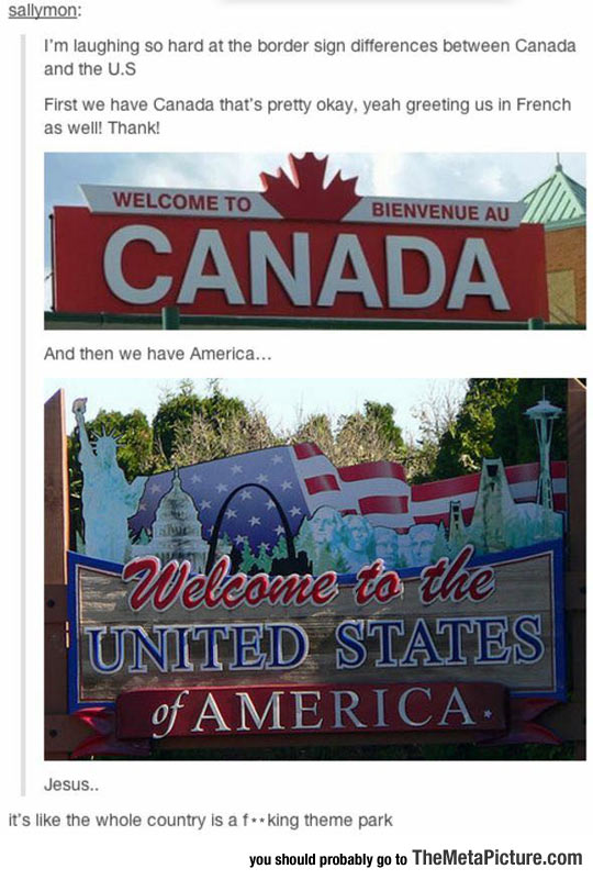 funny-Canada-America-welcome-sign